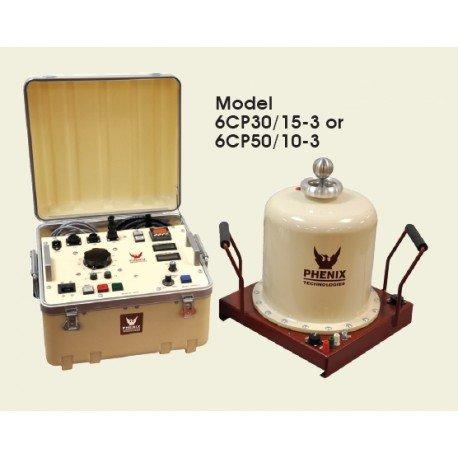 Poste d'essai diélectrique 30KV-100mA et 15KV-200mA